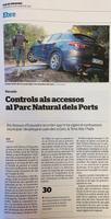 Controls als accessos al Parc Natural dels Ports: els Mossos d'Esquadra recorden que hi ha vigent el confinament municipal i desplegaran patrulles a Caro, Terra Alta i Paüls.