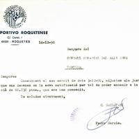 El CD Roquetenc escriu al Consell Comarcal del Baix Ebre per poder accedir a una subvenció