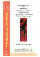 Presentació de llibre: Bèsties de l'hort de Xavier Blanch i Marc Vicens a càrrec d'Àngel Burgas
