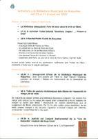 Diada de Sant Jordi: Activitats a la Biblioteca Municipal de Roquetes