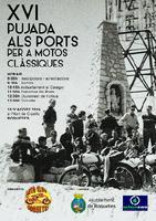 XVI Pujada als Ports per a motos clàssiques