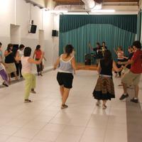 Curs de danses al Tradicionàrius l'any 2005