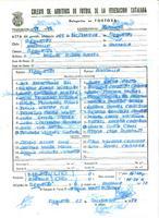 Acta de la Federació Catalana de Futbol del partit disputat, el 22 de desembre de 1985