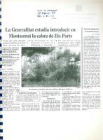 La Generalitat estudia introducir en Montserrat la cabra de Els Ports