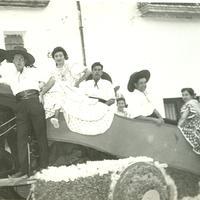 Cosso Iris Festes Majors de Roquetes, 1950