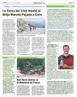 La Cursa del Llop manté la Mitja Marató-Pujada a Caro