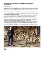 98500€ de danys provocats pel temporal Gloria a Roquetes.