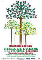Festa de l'arbre a la Via Verda