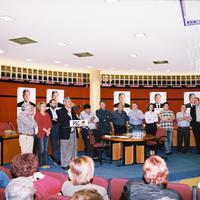 Presentació de la candidatura del PSC a Roquetes, any 2003