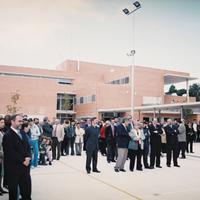 Inauguració de l'IES de Roquetes