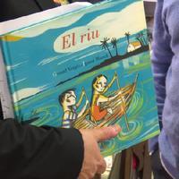 """""""Lo Riu"""", un àlbum il·lustrat d'Ignasi Blanch i Gerard Vergés."""