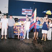 Associacions i clubs a l'ofrena de les Festes Majors de Roquetes