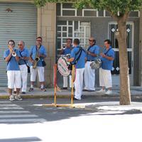 Actuació de Xarangues a les Festes Majors de Roquetes, any 2007