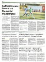 """El Jesús i Maria supera al Roquetenc con un """"hat-trick"""" de Ivan González"""