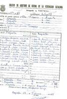 Acta de la Federació Catalana de Futbol del partit disputat entre el Amposta i el CD Roquetenc, el 23 de febrer de 1985