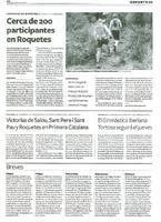 Victorias de Salou, Sant Pere i Sant Pau y Roquetes en Primera Catalana