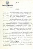Carta del president del CD Roquetenc a la Federació Catalana de Futbol. 1990