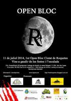1r Open Bloc Ciutat de Roquetes