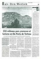 200 millones para promover el turismo en Els Ports de Tortosa.