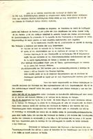Acta de la reunió conjunta del Patronat de Festes amb el CD Roquetenc, 1981