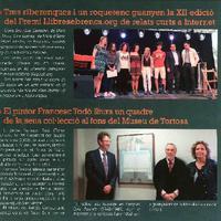 Tres riberenques i un roquetenc guanyen la XII edició del Premi LLibresebrencs.org de relats curts a Internet.