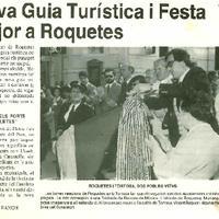 Nova guia turística i Festa Major a Roquetes