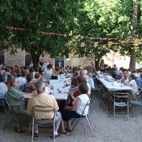 Berenar de l'Associació de Jubilats de Roquetes, any 2007