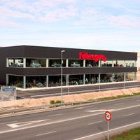 Inauguració de la botiga Fàbregues Motorsport a Roquetes, any 2005