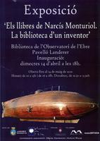 Exposició: ' Els llibres de Narcís Monturiol. La biblioteca d'un inventor '.