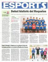 Debut històric del Roquetes.
