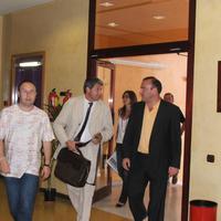 Visita del Secretari de Governació, Jaume Oliveras, l'any 2007