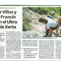 Roger Viñas y Judit Francín ganan el Ultra Trail de Xerta