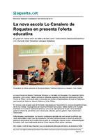 La nova escola Lo Canalero de Roquetes en presenta l'oferta educativa