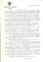 Comunicat del CD Roquetenc als socis, 1983