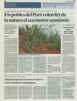 Els  pobles del Port volen fer de la natura el seu motor econòmic
