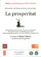 """""""La prosperitat"""" a càrrec d'Albert Talarn professor de Feng Shui"""