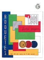 Programa de les Festes Majors de Roquetes 1991