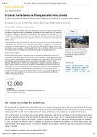 El canal Xerta-Sénia es finançarà amb fons privats