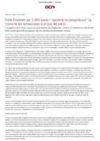 """Fulls d'examen per 3.000 euros  i """"devastar la competència"""": la trama de les autoescoles, a judici."""