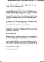 """Youssef Abaghad y Heura Piñol ganan la """"Cursa Les II Torres"""" de Campredó."""