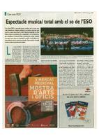 Espectacle musical total amb el so de l'ESO