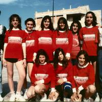 Equip femení del Club Voleibol Roquetes
