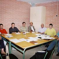 Reunió de l'AMPA de l'IES Roquetes, any 2002