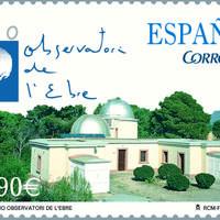 Segell del centenari de l'Observatori de l'Ebre