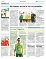 El sènior masculí del Volei Roquetes recupera la seua millor versió i guanya a la pista dels Monjos.