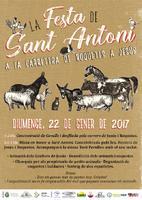La Festa de Sant Antoni a la carretera de Roquetes a Jesús: diumenge 22 de gener de 2017
