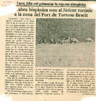La cabra hispànica nou al·licient turístic a la zona del Port de Tortosa-Beseit.