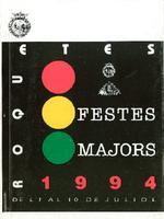 Programa de les Festes Majors de Roquetes 1994