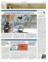 Un mural d'Ignasi Blanch per recordar l'1-O.