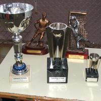 Entrega de trofeus de Futbol sala, any 2007